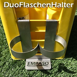 EMPASO TeamKiste - 12er Flaschenträger Set - DuoFlaschenHalter
