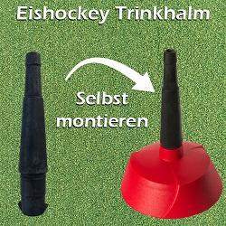 EMPASO TeamKiste - Eishockey trinkflaschen – Trinkflaschen Flaschenträger Set