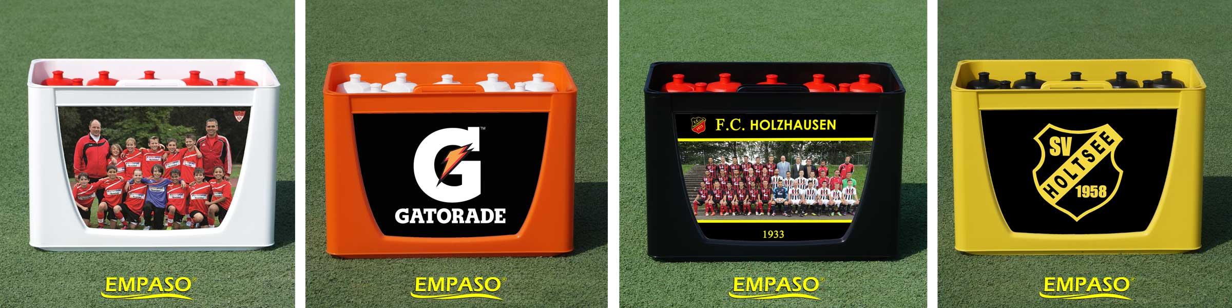 EMPASO TeamKiste - 12er Flaschenträger Set