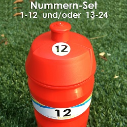 EMPASO TeamKiste - fußball trinkflaschen Flaschenträger Set