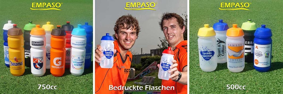 EMPASO TeamKiste Flaschenträger - bedruckte Trinkflaschen bedrucken