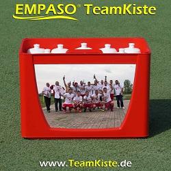 Kundenreferenzen TeamKiste FlaschenTräger Set - Fussball trinkflaschen set