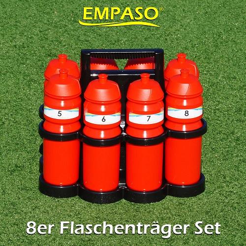 EMPASO 8er Trinkflaschen Flaschentraeger-Set-02