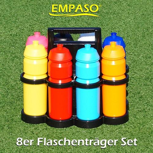 EMPASO-8er-flaschentraeger-mit-fussball-trinkflaschen - 8er Flaschenträger