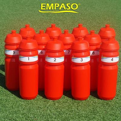 EMPASO TeamKiste Set 12Trinkflaschen