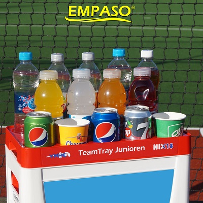 EMPASO TeamKiste Flaschenträger Set - TeamTray serviertablett