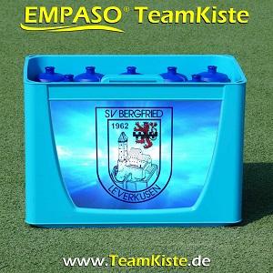 Fussball Trinkflaschen Set - Fussball Flaschenträger Set - TeamKiste