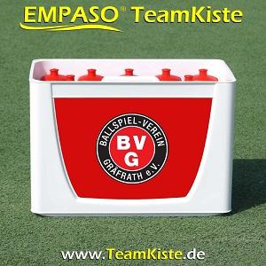 Fussball Trinkflaschen Set - Flaschenträger Set Flaschenhalter Fussball - TeamKiste