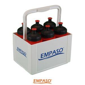 EMPASO 6er Trinkflaschen Set