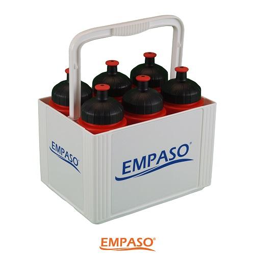 EMPASO TeamKiste 6er flaschenträger Set