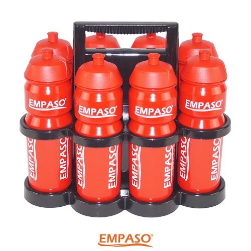 EMPASO TeamKiste 8er Flaschenträger Set 8er Trinkflaschen set