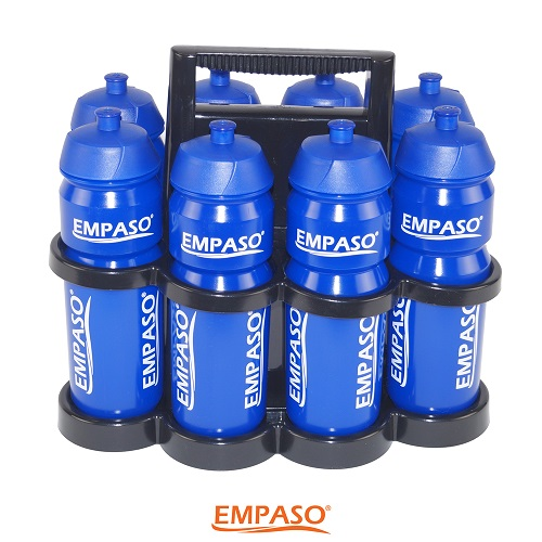 EMPASO 8er Trinkflasche Set
