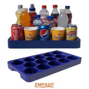 EMPASO TeamKiste Trinkflasche Fussball Trinkflaschen12er Set Fl