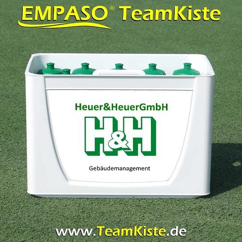 TeamKiste FlaschenTräger Set Fussball trinkflaschen set