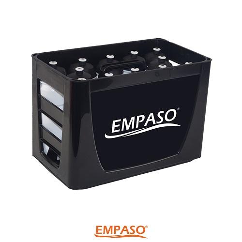 EMPASO TeamKiste - Fussball Flaschenträger Fußball Trinkflaschen Set