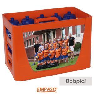 EMPASO TeamKiste - Set Fussball Trinkflaschen - Fußball Trinkfla