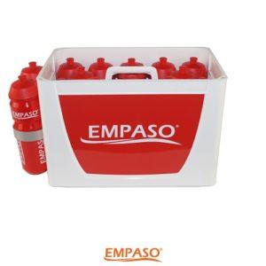 EMPASO TeamKiste 14er Flaschenträger Set Fussball Trinkflaschen Set