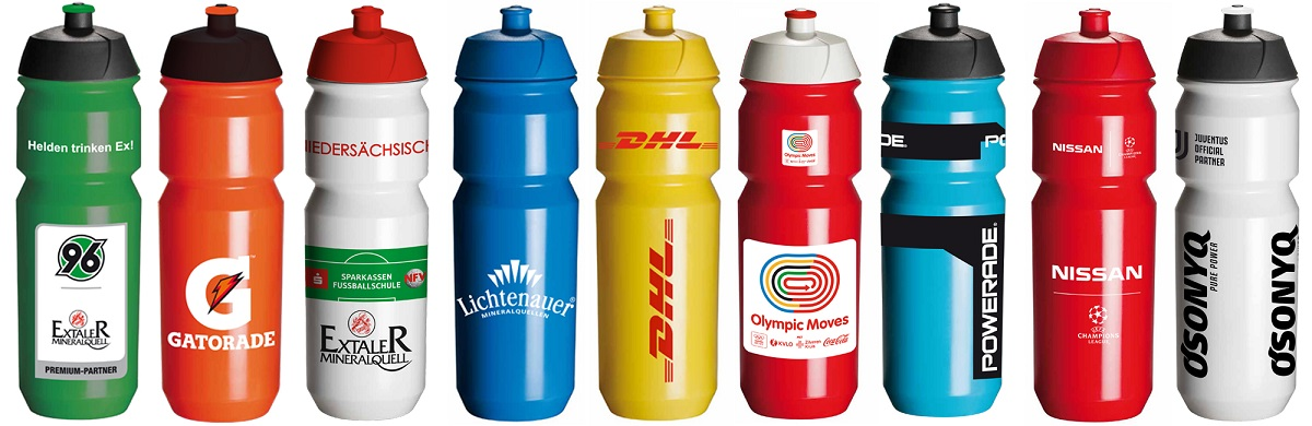 EMPASO Bedruckte Trinkflaschen