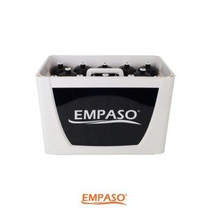 12er EMPASO TeamKiste White & Black mit 12 Trinkflaschen 750cc
